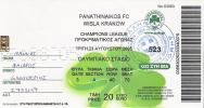Panathinaikos Vs Wisla Krakow/Football/Champions League Preliminary Match Ticket - Match Tickets