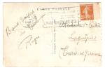 Flamme Temporaire FOIRE DE TOULOUSE MARCHE DU MIDI, 31 VIII 1932,Semeuse,n° 235 Avec REPERE,Carte GARE MATABIAU, Tramway - Mechanical Postmarks (Advertisement)