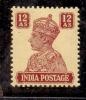 1941 BRITISH INDIA 12ANNA KGV1 MINT NEVER HINGED STAMP UMM. - India