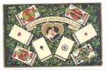 FANTAISIE - Le Langage Des Cartes à Jouer - Jeu  -  Carte Brochée (Y38)hon - Cartes à Jouer