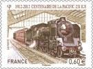 Timbre Centenaire De La Pacific 231 K8 0,60€ - Autocollant ** PRO - Adhesive Stamps