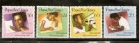 Papua New Guinea 1989 Letter Writing Week  MNH Set - Papua New Guinea