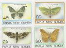 Papua New Guinea 1994 Moths   MNH Set - Papoea-Nieuw-Guinea