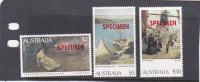 Australia Paintings SPECIMEN MNH - Collections