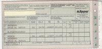 B0763  CARTA D´IMBARCO - BIGLIETTO AEREO - LINEA AEREA CLIPPER INTERNATIONAL - BERGAMO ORIO AL SERIO-S.PIETROBURGO 1993 - Europa