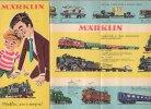 B0765  Depliant Novità TRENI CATALOGO MARKLIN 1960/GIOCATTOLI MODELLISMO FERROVIARIO/LOCOMOTIVE - Locomotive