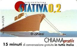 *CHIAMAGRATIS - N.32 - STATIVA 0,2* - Scheda Usata (DT) - Unclassified