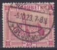 SAAR - Michel - 1922/23 - Nr 91 - Gest/Obl/Us - Ohne Zuordnung