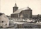Cpsm Montignies-lez-Lens Eglise St Martin (noir Et Blanc) - Lens