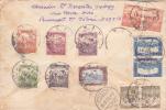 HONGRIE - 1923 - INFLATION - ENVELOPPE RECOMMANDEE De BUDAPEST