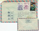 Airmail 1961 To Belgium   3 Dif.stamps - 1945-... Republic Of China