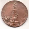 JUAN JOSE PASO HOMENAJE DE LA CAPITAL DE LA REPUBLICA A LA JUNTA GUBERNATIVA DE 1810 MEDALLA DE GRAN TAMAÑO, BRONCE,  ME - Jetons & Médailles