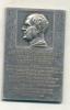 DOMINGO FAUSTINO SARMIENTO HOMENAJE EN EL CINCUENTENARIO DE LA MUERTE 1888-11 DE SETIEMBRE-1938  PRESIDENTE DE LA NACIO - Tokens & Medals