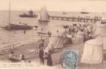 CPA 33 @ ARCACHON @ La Plage En 1905 @ Bateaux à Voile - Arcachon