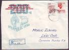 YUGOSLAVIA  - JUGOSLAVIJA  - ELECTRIC FACTORY On Stamps On Recom. Letter - 1967 - Electricidad