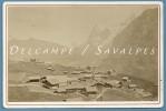 SUISSE - MURREN - Lauterbrunnen - CDV Photo Braun 1870 - 3 Scans - Places