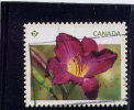 CANADA, 2012, USED, DAYLILY   Used  WYS IWYG  #2530 - Carnets