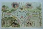 Carte Fantaisie Les Mois De Naissance - Naissance