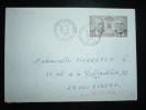 LETTRE TP YT 2501 COOPERATION FRANCO-ALLEMANDE 2,20 F OBL. 23-9-1988 ST VICTOR DE RENO (61 ORNE) - Marcophilie (Lettres)