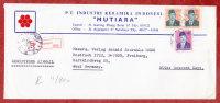 Luftpost, Einschreiben Reco, MiF Sukarno, Surabaya Nach Freiburg 1985 (70176) - Indonesia