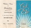 Calendrier  Deux Volets/PIVER Paris/Ciel D´Eté/Parfum/Saint André De L´Eure/1968                CAL40 - Unclassified