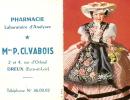 Calendrier  Deux Volets/Pharmacie /VABOIS/DREUX/1965             CAL41 - Calendars