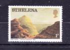 SAINT  HELENA  ISLAND    1976  , Paintings - Landscapes   ,  1 P   ,  Y&T 284   , Cv 0,15 E ., ** M N H , V V F - Saint Helena Island