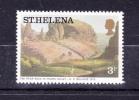 SAINT  HELENA  ISLAND    1976  , Paintings - Landscapes   ,  3 P   ,  Y&T 285   , Cv 0,15 E ., ** M N H , V V F - Saint Helena Island