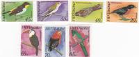Surinam Birds 2  MH - Surinam