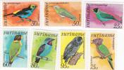 Surinam Birds 1  MH - Surinam