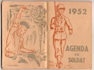 Calendrier /Agenda Du Soldat//1952           CAL48 - Calendriers