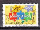 FRANCE / 2001 / Y&T N° 3404 : Associations - Usuel - France