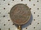 SRI LANKA 25 Cents 1963 - Sri Lanka