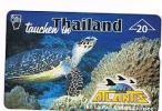 AUSTRIA - TELEKOM AUSTRIA (L&G) -  1999 ATLANTIS DIVING, THAILAND : THE TURTLE  (TIRAGE 760)    USED °   RIF. 5396 - Tartarughe