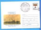 Ship, Torpedo, Meter Mark  ROMANIA Postal Stationery  1996 - Postal Stationery