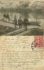 1906?  Officiers Observant Une Mnoeuvre De Barque Dos Non Divisé - Manovre