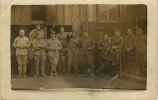 Groupe De Soldats Non Identifié  Ecrite - War 1914-18