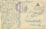 Feldpost 1.WK LAGERKOMMANDANTUR 865  1918 - Deutschland