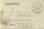 Feldpost 1.WK KRIEGSGEF. ARBEITSBATAILLON NR. 37  1917 - Deutschland
