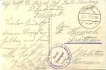Feldpost 1.WK 1.KOMPAGNIE DES KRIEGSGEFANGENEN-ARB.-BATLS. NR. 35  1917 - Deutschland