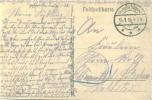 Feldpost 1.WK 1.MILITÄR-GEFANGENEN-KOMPAGNIE D. 7. ARMEE  1918 - Deutschland