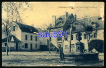 St Geniez D'Olt -  La Poste Et La Place Neuve   - Animée -  Bicyclette  -  Réf : 24880 - Frankreich