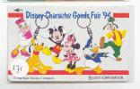 Télécarte DISNEY Japon (271) Phonecard Japan * Telefonkarte Japan - Disney