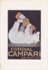 PUBBLICITA´- ADVERTISING-WERBUNG -CORDIAL CAMPARI (ORSO)-SUL RETRO GOMME ENGLEBERT - Advertising
