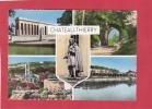 CPSM - CHATEAU THIERRY - Cimetiére Américain - Parc Du Chateau - Vue Générale - La Marne Et Le Chateau - Chateau Thierry