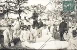 Photo Carte Militaire Soldats Du 99 Eme Régiment D Infanterie ? Posté De Ambérieu En Bugey Ain 1913 Confection Ballots - Régiments