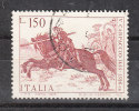 Italia   -   1976.  San Giorgio A Cavallo. St. George On Horse. ( Carpaccio  Pittore Del '500 ). - Paarden