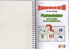 RICHTER Plattenfehler Bei Zusammendrucke Der DDR 2012 Neu 23€ Se-tenant And Error In New Special Catalogue Of Germany - Philatélie