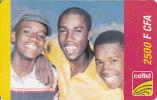Gabon, Celtel, 2 500 F CFA, 3 Boys. - Gabon