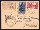 1943  Lettre Recommandée De KRIBI Pour Yaoundé  184 , 160 ) Contrôle Commission B - Cameroun (1915-1959)